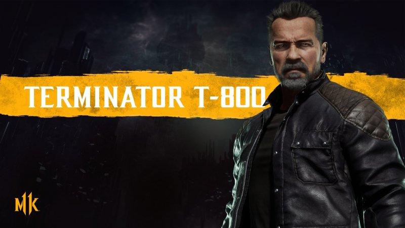 Персонажи Mortal Kombat 11 Терминатор (Терминатор Т-800)
