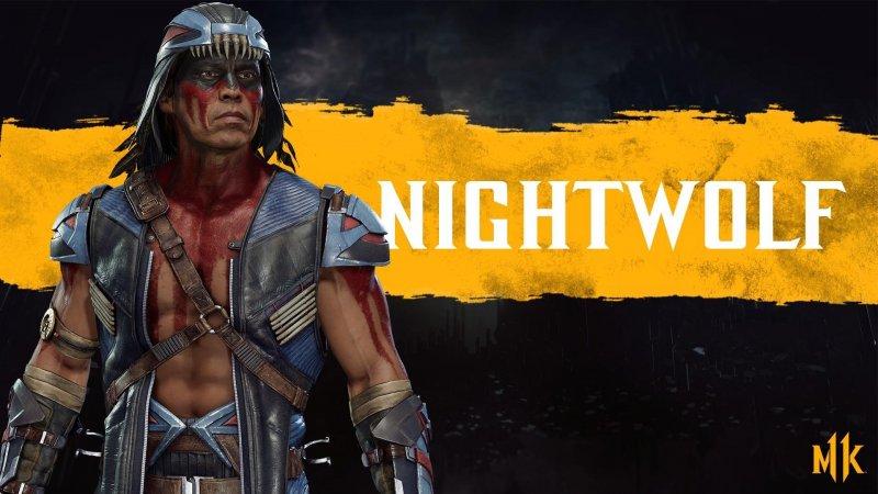 Mortal Kombat 11 персонажей Nightwolf