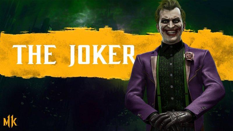 Персонажи Mortal Kombat 11 Joker
