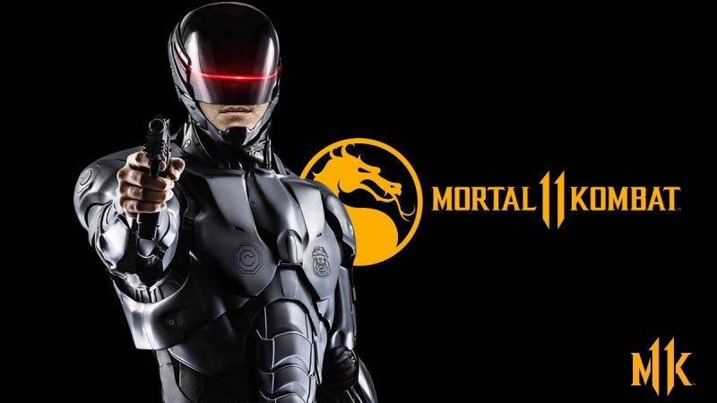 Mortal Kombat 11 Робокоп персонажи