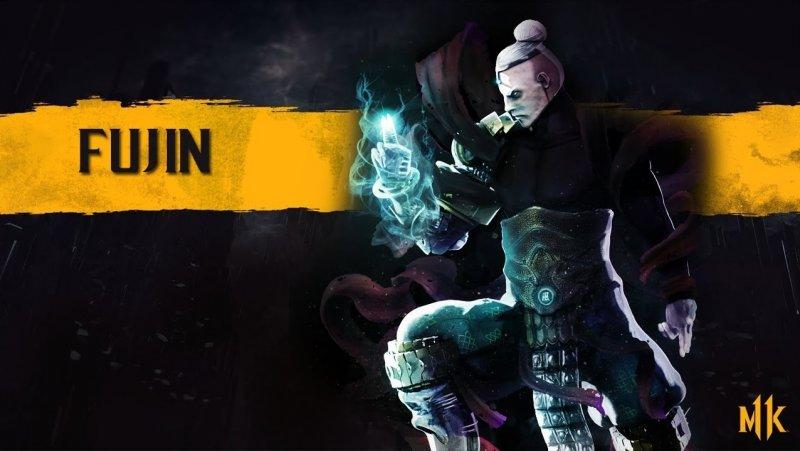 Персонажи Mortal Kombat 11 Fujin